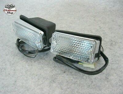 Fiat 124 Berlina front turn lights