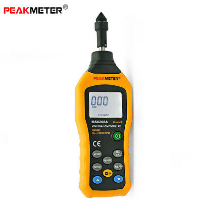 Contact Type Digital Tachometer Pocket Wind Speed Test Meter Air Flow Anemometer