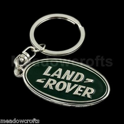 Land Rover Key Ring with Box NEW  Freelander Discovery Chain Range Sport Keyring