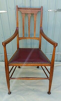 Antique Arts & Crafts Hall/bedroom/ Library Chair