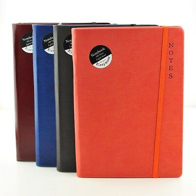 A5 Premium Soft Touch Notebook Notepad 80gsm Ruled Page Neon Colours Hardback