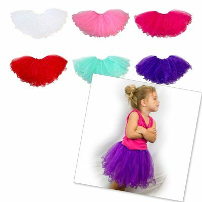 HBC Little Girls Tutu Ruffle Edge 3-Layer (4 mo. - 3T) (US Seller)