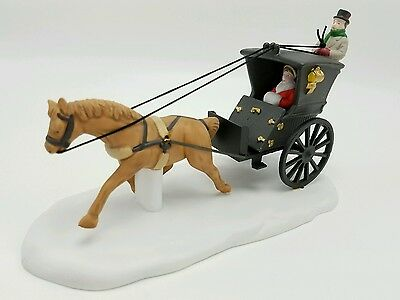 Department 56 Dickens Village Kings Road Cab 55816 NEW Mint in Box Retired