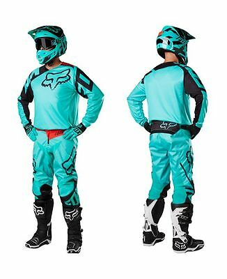 Completo cross enduro downhill FOX 180 RACE (Maglia+pantaloni)