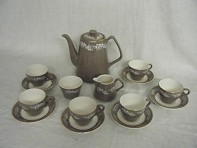 C4 Pottery Lord Nelson 7-65 Coffee Service (total of 16 pieces) 3E7C