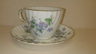 Vintage Adderley Fine Bone China Cup and Saucer