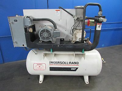 Ingersoll Rand 20 Hp Horizontal Rotary Screw Air Compressor~Quincy~Curtis