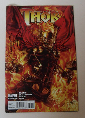 SIGNED Thor #612 Marvel Sept 2010 Comic (Signed by Colourist John Rauch) RARE
