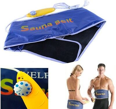 Sauna Belt  Slimming Fitness abb tool Fat Cellulite Calorie Burner Waist Trimmer
