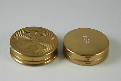 Pair of Rouge Compacts Dorothy Gray and Unmarked Small
