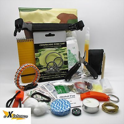 SMALL ULTIMATE GRAB & GO COMBAT SURVIVAL PACK scouts cadets camping hiking