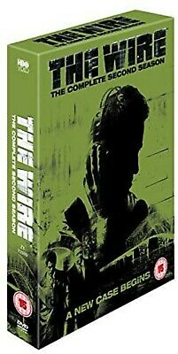 THE WIRE COMPLETE SERIES 2 DVD All Episodes Brand New Sealed UK Release R2
