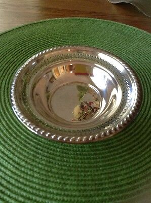 Sterling Reticulated Bowl 6 Inch Diameter