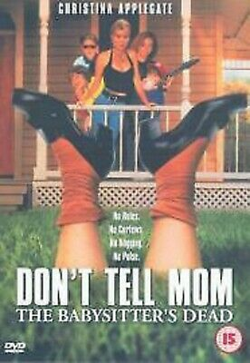 Don't Tell Mom Mum The Babysitter's Dead DVD dont do not Movie Film New UK R2