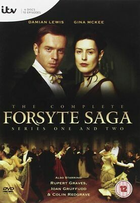 Forsyte Saga Complete Series 1 And 2 Dvd Box Set All Episodes Collection Sealed