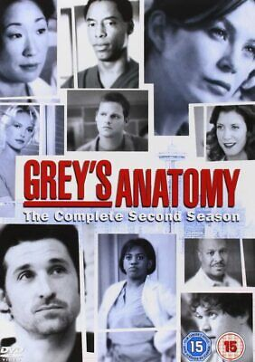 Grey's Anatomy Complete Series 2 DVD Box Set Season New Sealed UK R2 2nd Greys