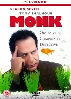 MONK COMPLETE SERIES 7 DVD Box Set Season New and Sealed 7th Seventh UK R2