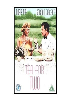 TEA FOR TWO DVD Doris Day Brand New and Sealed Original UK Release Region 2