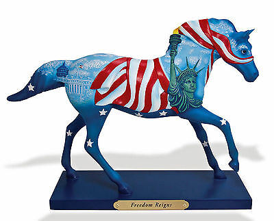 "The Trail of Painted Ponies ""Freedom Reigns"" NIB #4034631"