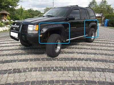 Jeep Grand Cherokee Zj 1992 - 1998 Wheel Arch - Fender Flares Extensions 12 Pcs