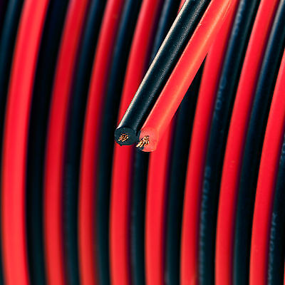 20 Ft 20 Gauge Wire Black And Red Zip-cord Type Wire 20'