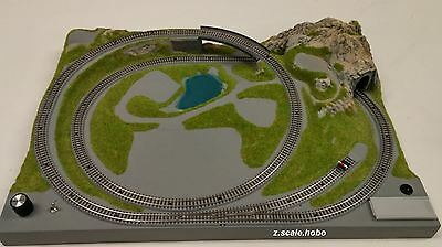 NOCH 87060 Z Scale Train Layout Track and Power Installed & Ready to Run in USA