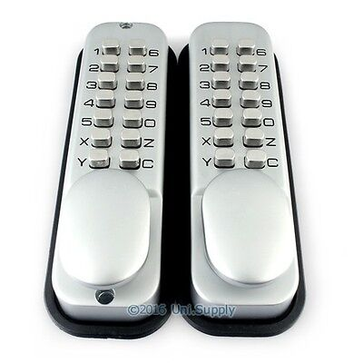 MECHANICAL Double-sided Keyless Lock NO Battery Or External Power Source Needed