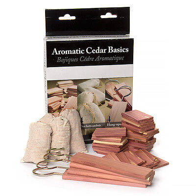 NEW Woodlore Aromatic Cedar Basics Set 43pce