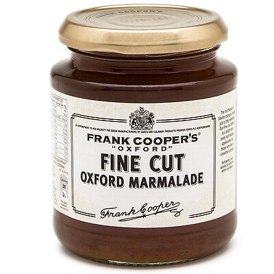 NEW Frank Coopers Oxford Fine Cut Marmalade 454g