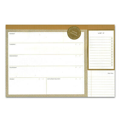 NEW Galison Modern Gold Desk Jotter