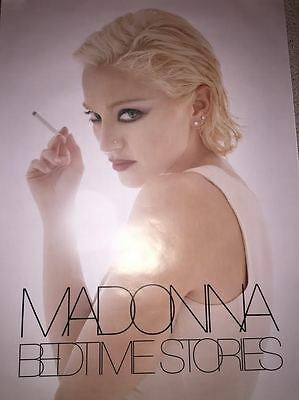 Madonna Bedtime Stories Rare Limited Edition 1995 Promo Poster