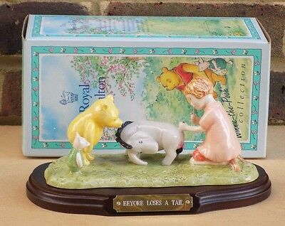 ROYAL DOULTON The Winnie the Pooh Collection - Eeyore Loses a Tail WP15