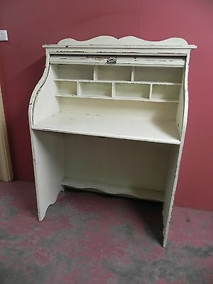 Painted Contemporary Roll Top Desk