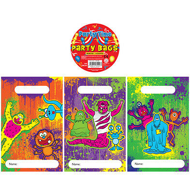 MONSTER Birthday Party Loot Treat Bags Fillers / Favours Choose Your Quantity