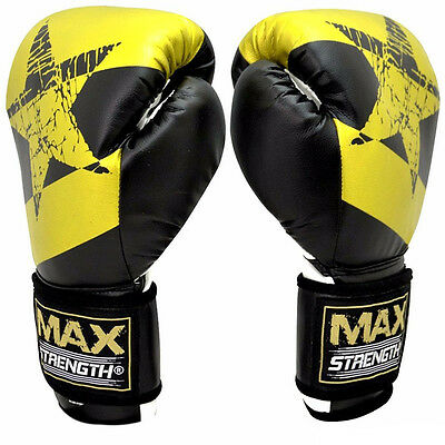 Punch Boxing Gloves Sparring MMA Muay Thai Pro Gym Fight Rex Grappling Pads UFC