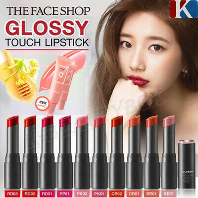 RiRe Luxe Glow Lipstick 6COLOR or Kissing Lip Gloss Korean Cosmetics k-beautybox