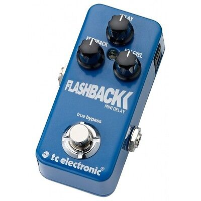 Pedal TC ELECTRONIC Flashback Mini Delay Delay / Echo