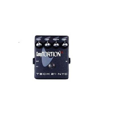 Pedal TECH 21 compTORTION Compression Distortion Distorsión / Overdrive