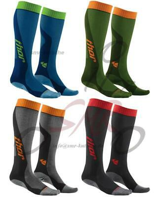 Thor Motocross Cool Socken Lang Cross Offroad Enduro Mx Mtb Atv Quad Strümpfe