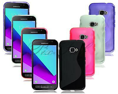 For Samsung Galaxy Xcover 3 G388F New Black Gel Silicone Rubber Phone Case Cover