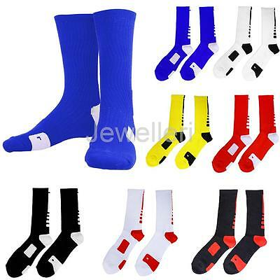 Men Quick-drying Towel Sweat Sock Tube Outdoor Sports Basketball Crew Sock