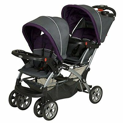 baby trend sit n stand double stroller double folding baby stroller elixer