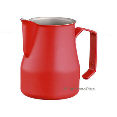 Motta Red Professional Milk Frothing Pitcher 12 oz / .35 cl - Made in Italy