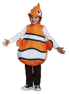 Nemo Classic Child Costume, Orange, Disguise