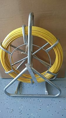 Nbn Telstra Fibreglass Rodder With Free Flexi Head Cable Puller 4.5 Mm X 100Mts