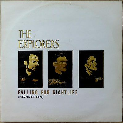 "12"" The Explorers - Falling For Nightlife - UK 1984 - VG+(+)"
