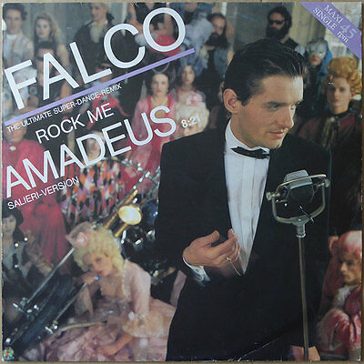 "12"" Maxi Falco - Rock Me Amadeus (Salieri-Version) - DE 1985 -  VG++"