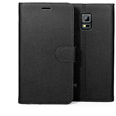 for Samsung Galaxy Note 4 Case Premium Leather Card Slot Wallet Flip Cover