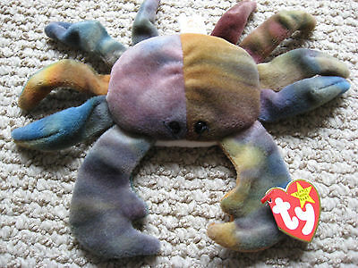 Beanie Baby Claude the crab