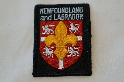 Canadian Newfoundland and Labrador Boy Scout Patch